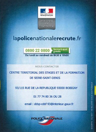 LaPoliceNationalRecrute