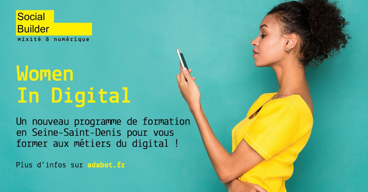 Les femmes dans le digital