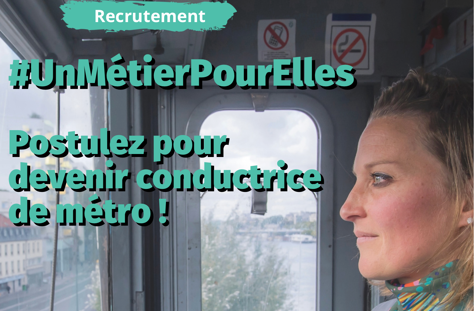 conductrice de métro